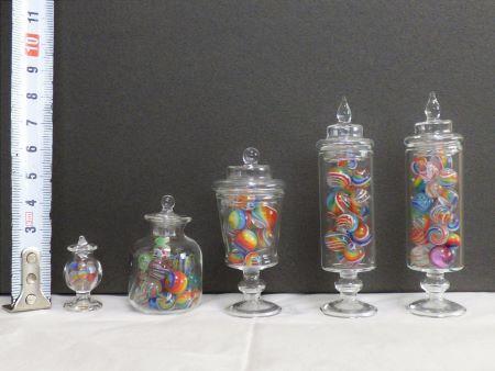 ガラスボトル5種