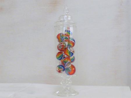 ガラスボトル・レインボー1