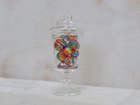 ガラスボトル(小)・レインボー1