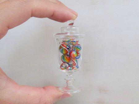 ガラスボトル(小)・レインボー2