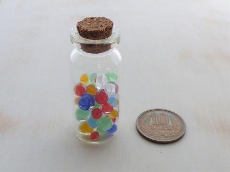 コルクガラス小瓶1