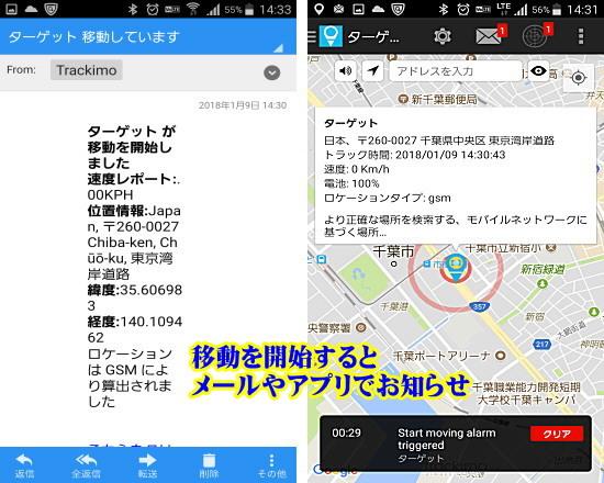 GPS発信機 購入 発見 スピード