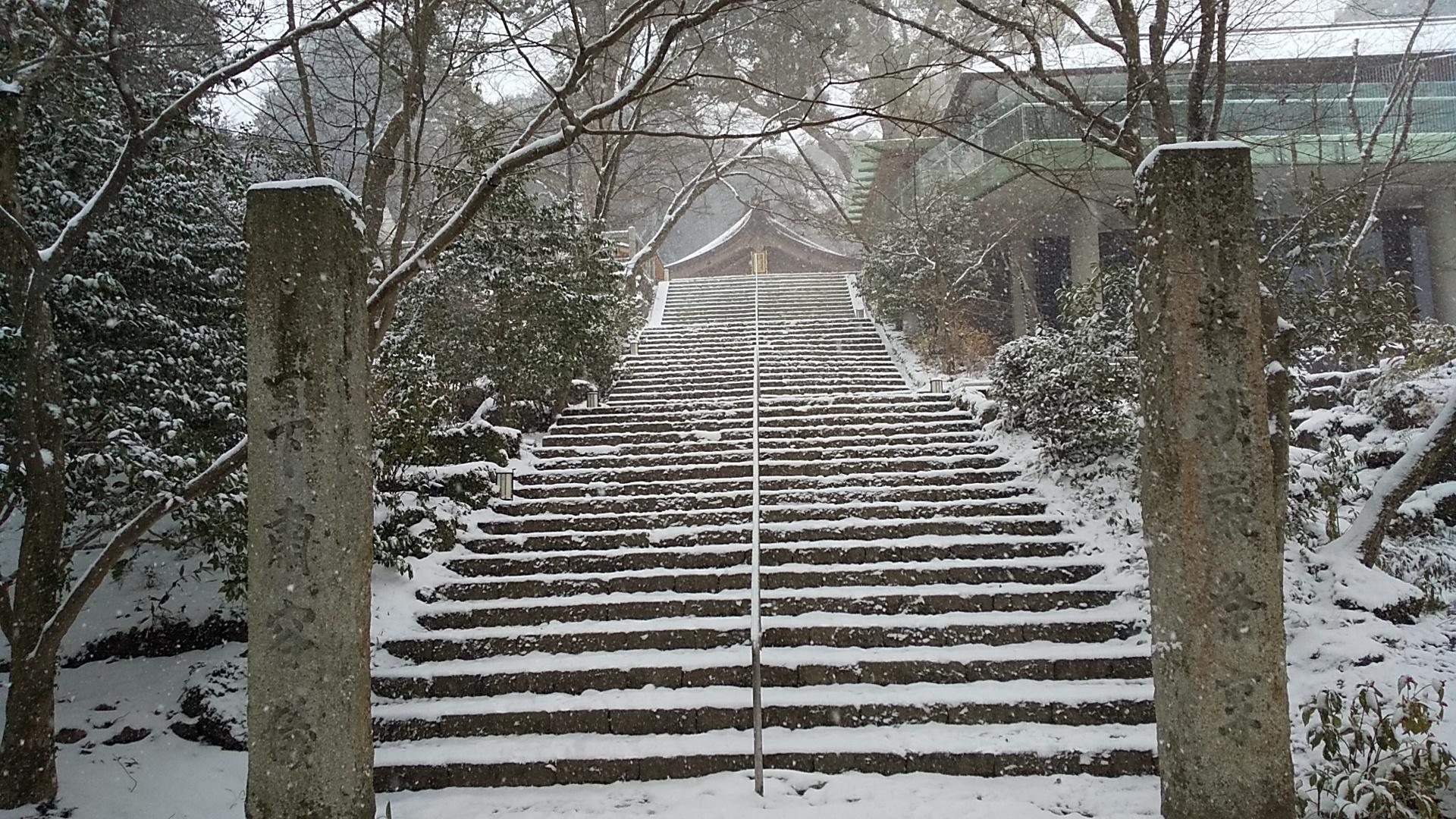 竈門神社へ3