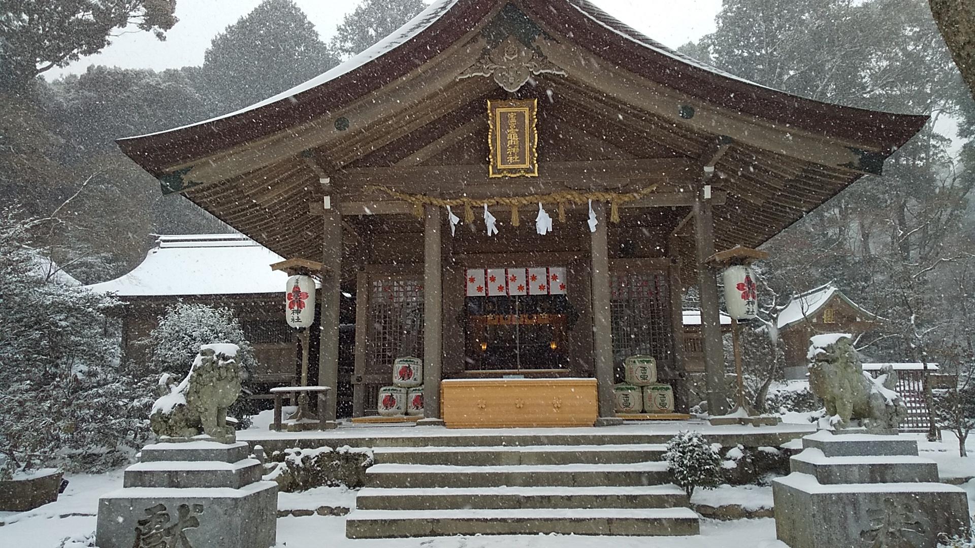 竈門神社へ4