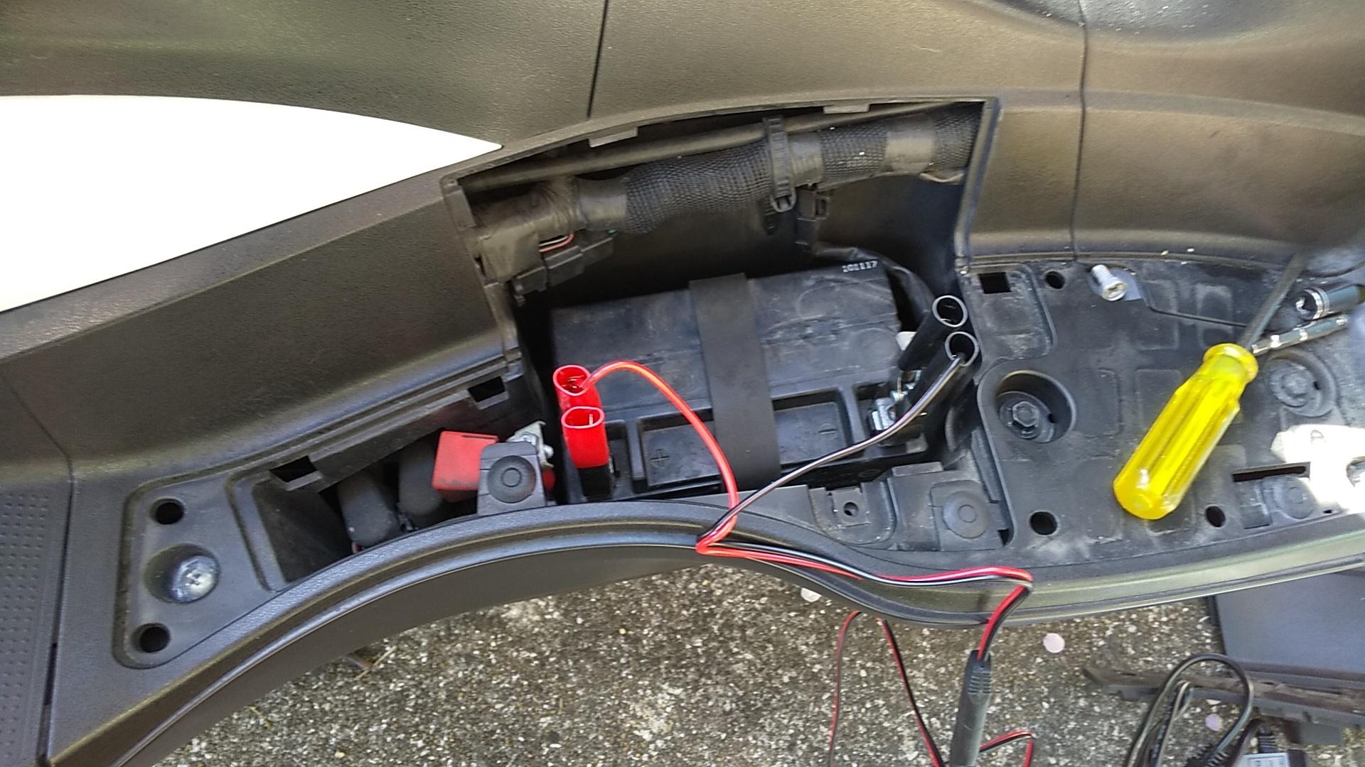 バッテリー充電4