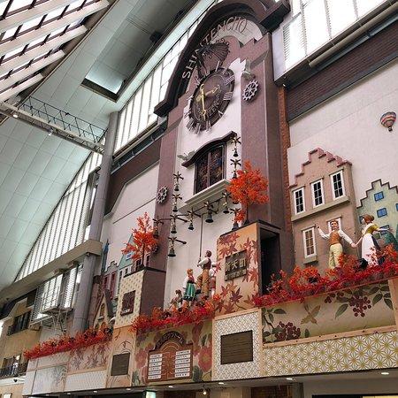 新天町商店街時計台