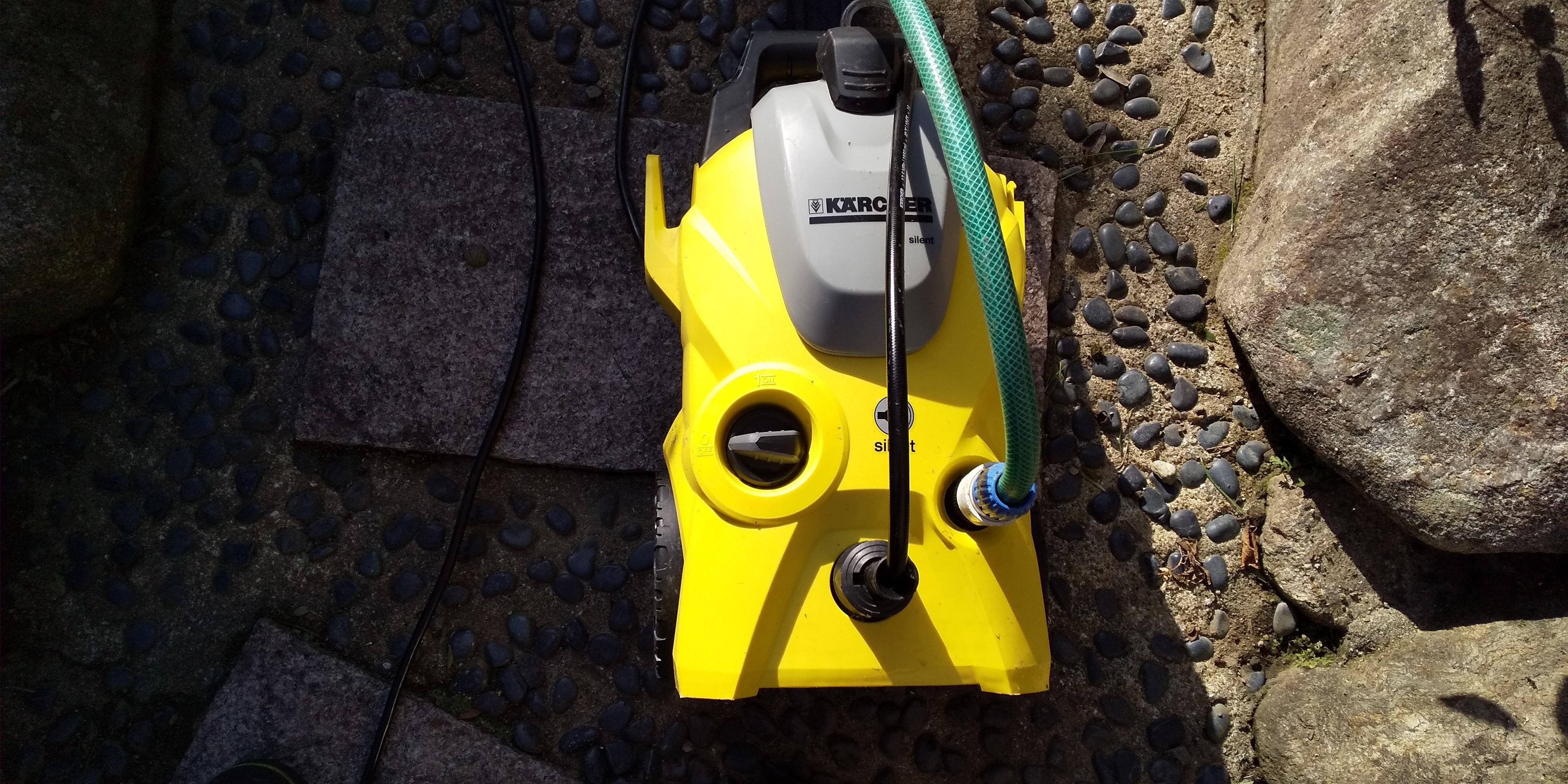 ケルヒャー高圧洗浄機サイレントK3
