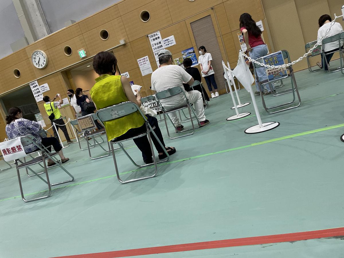 ワクチン接種へ by天空オフィシャルブログ所蔵画像