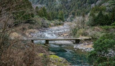 奈半利川沈下橋