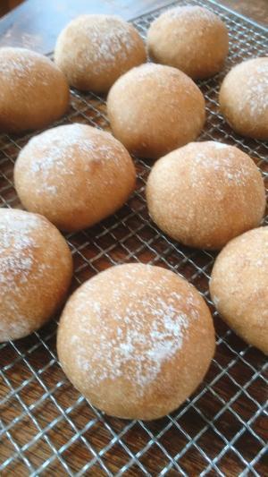 しっとりきな粉あんパン