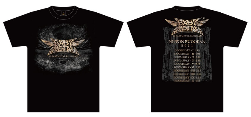 BABYMETALの歴史-Tシャツの歴史(2021)