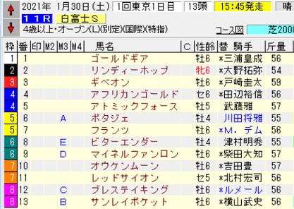 21白富士S