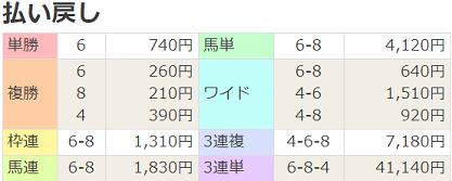 210314阪神8R払戻