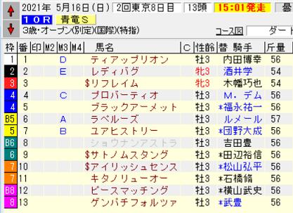 21青竜S