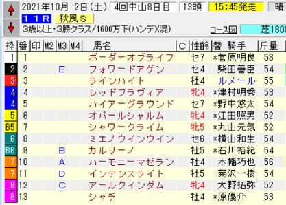 21秋風S