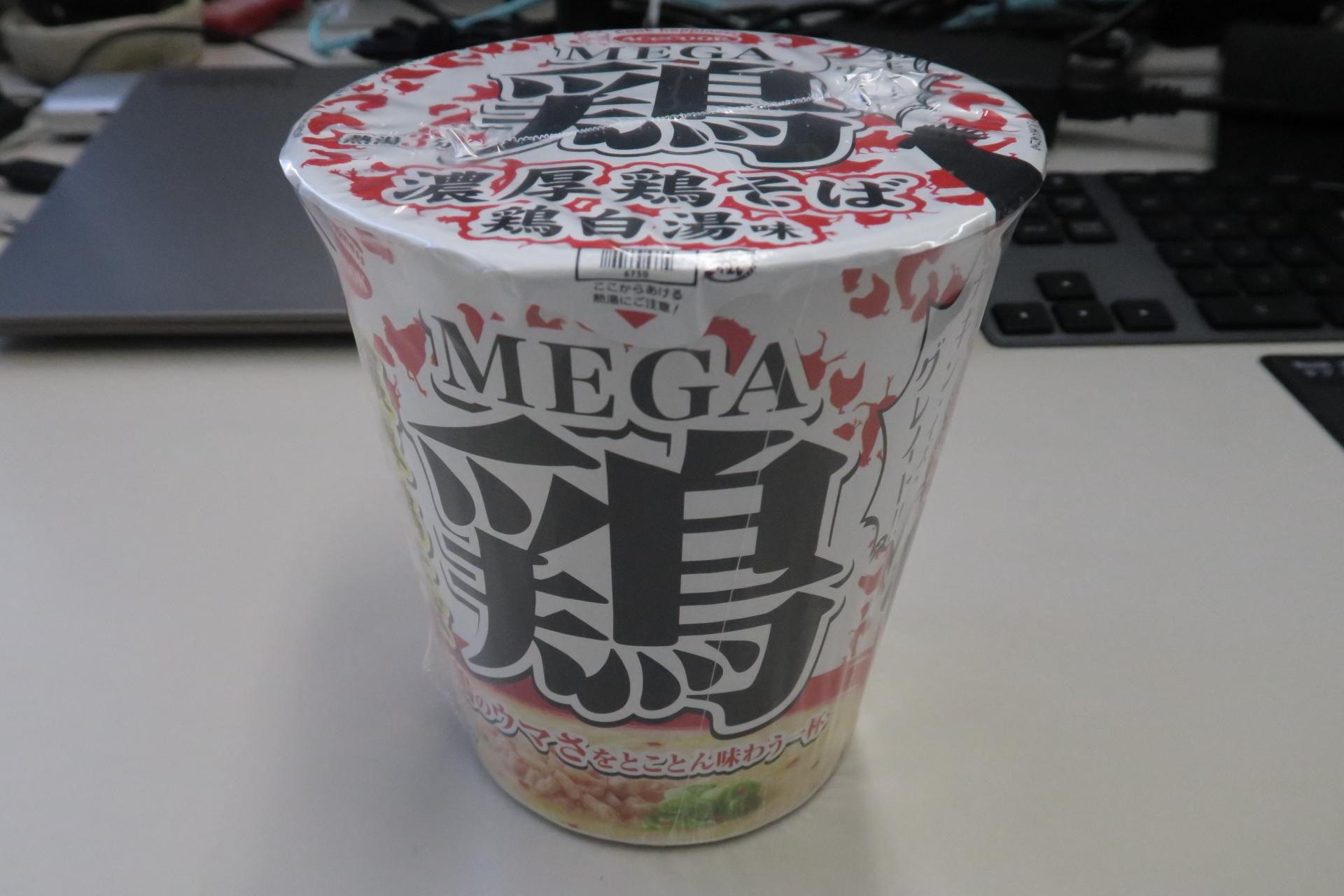 カップ麺 MEGA鶏