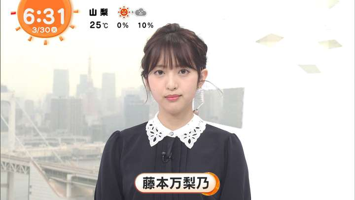 2021年03月30日藤本万梨乃の画像04枚目