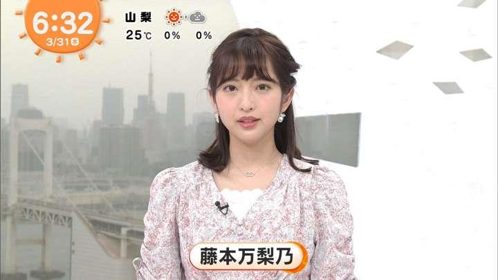 2021年03月31日藤本万梨乃の画像02枚目