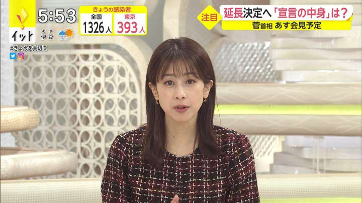 2021年02月01日加藤綾子の画像11枚目