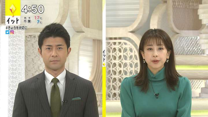 2021年02月19日加藤綾子の画像05枚目