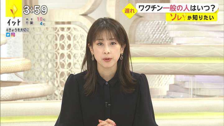 2021年02月25日加藤綾子の画像03枚目