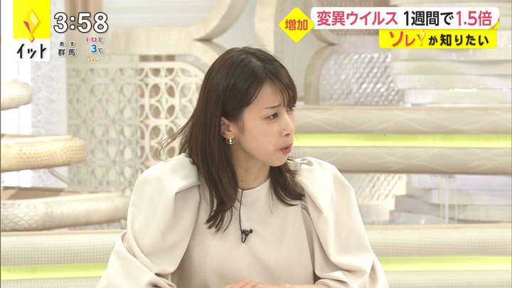 2021年03月22日加藤綾子の画像03枚目