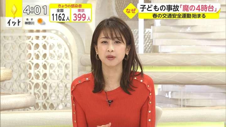 2021年04月06日加藤綾子の画像03枚目