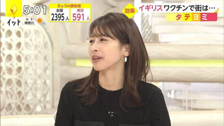 2021年04月14日加藤綾子の画像08枚目