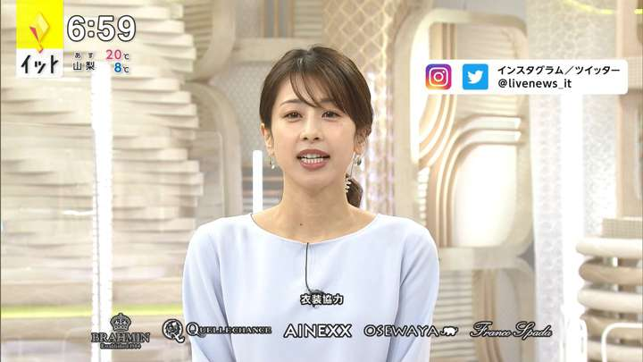 2021年04月15日加藤綾子の画像15枚目
