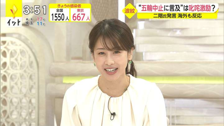 2021年04月16日加藤綾子の画像04枚目