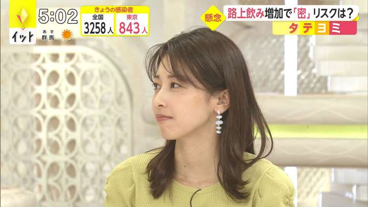 2021年04月21日加藤綾子の画像06枚目