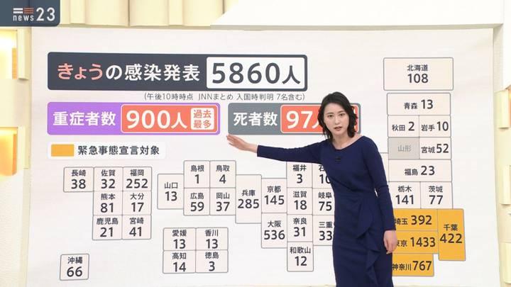 2021年01月13日小川彩佳の画像03枚目