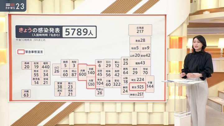 2021年04月28日小川彩佳の画像02枚目