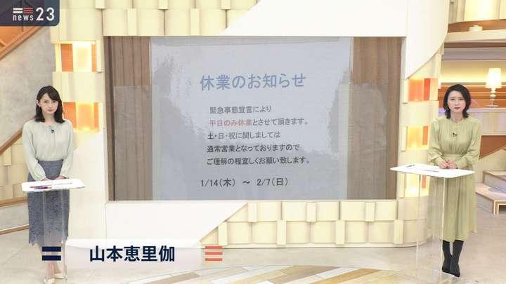 2021年01月14日山本恵里伽の画像01枚目