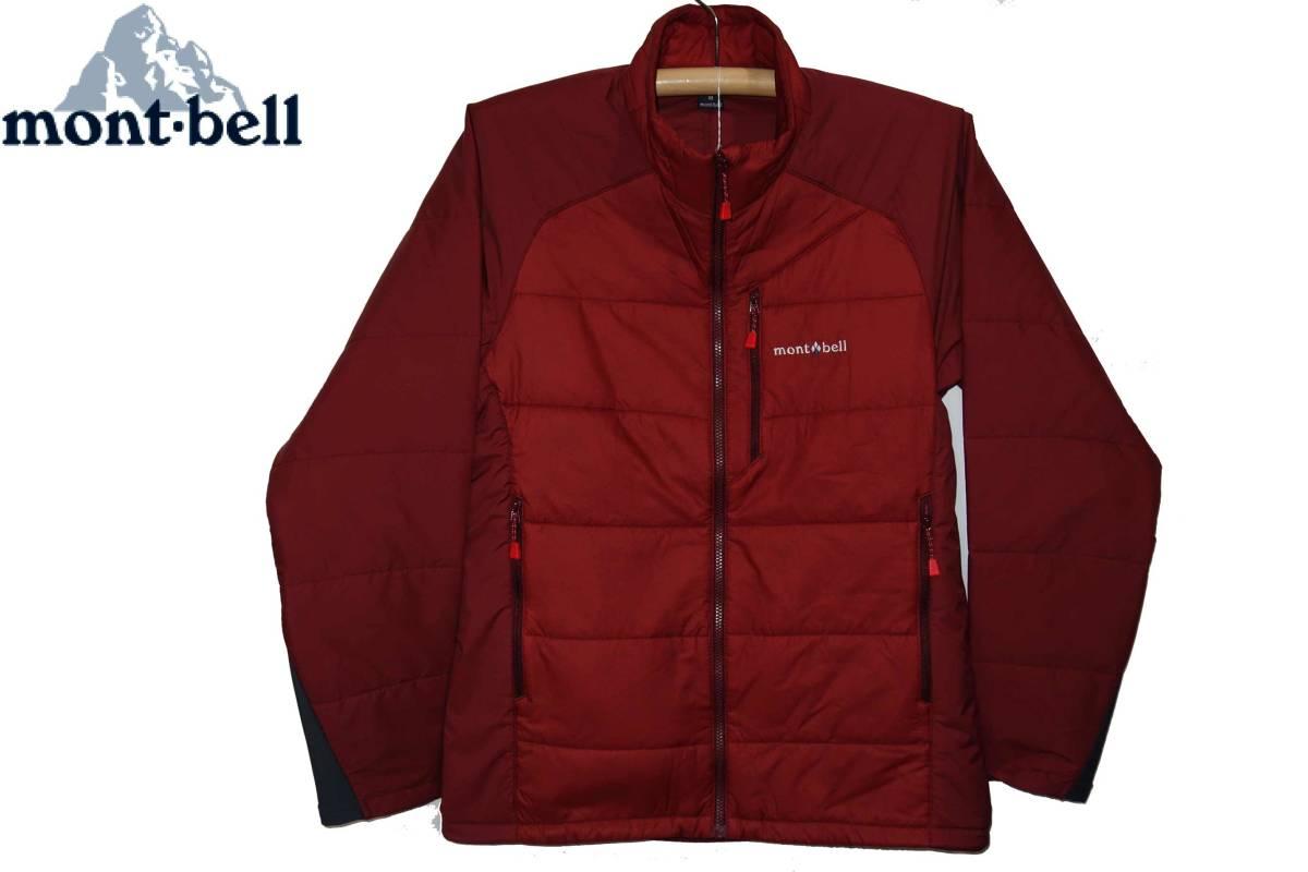 お買取商品モンベルmont-bell新品同様U.L.サーマラップ ジャケットPAPRI M MONT-BELL 1101539