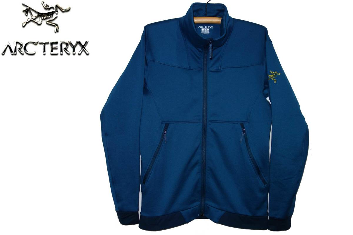 お買取り商品アークテリクスARC'TERYX美品ストライボジャケットSTRAIBO JACKETフリース14522アメアスポーツ青M