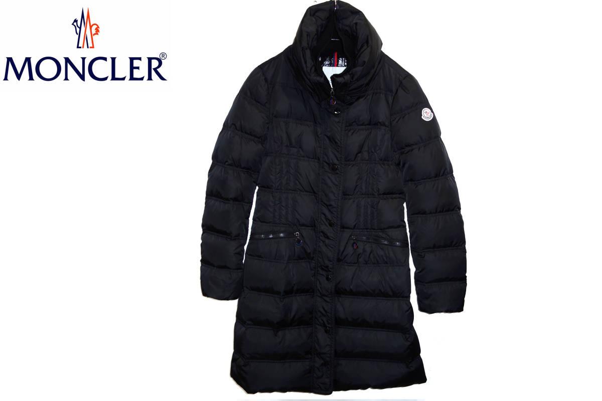 お買取商品モンクレールMONCLER正規VOSヴォスロングダウンコートジャケット1黒