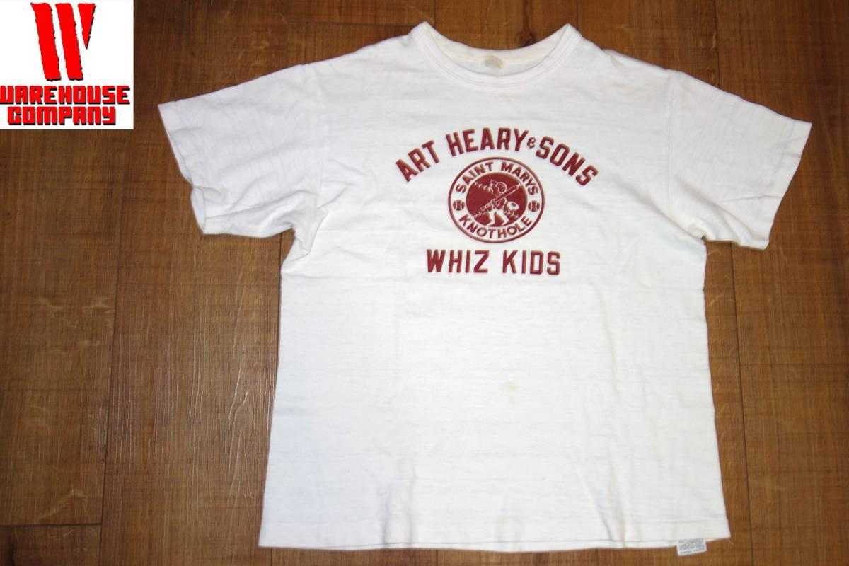 お買取商品ウエアハウスWAREHOUSETシャツ白M ART HEARY