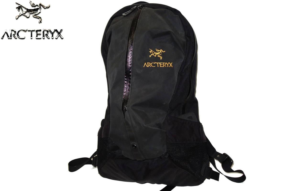 お買取り商品アークテリクスARC'TERYX訳有美品バックパックアローARRO22リュックサック黒