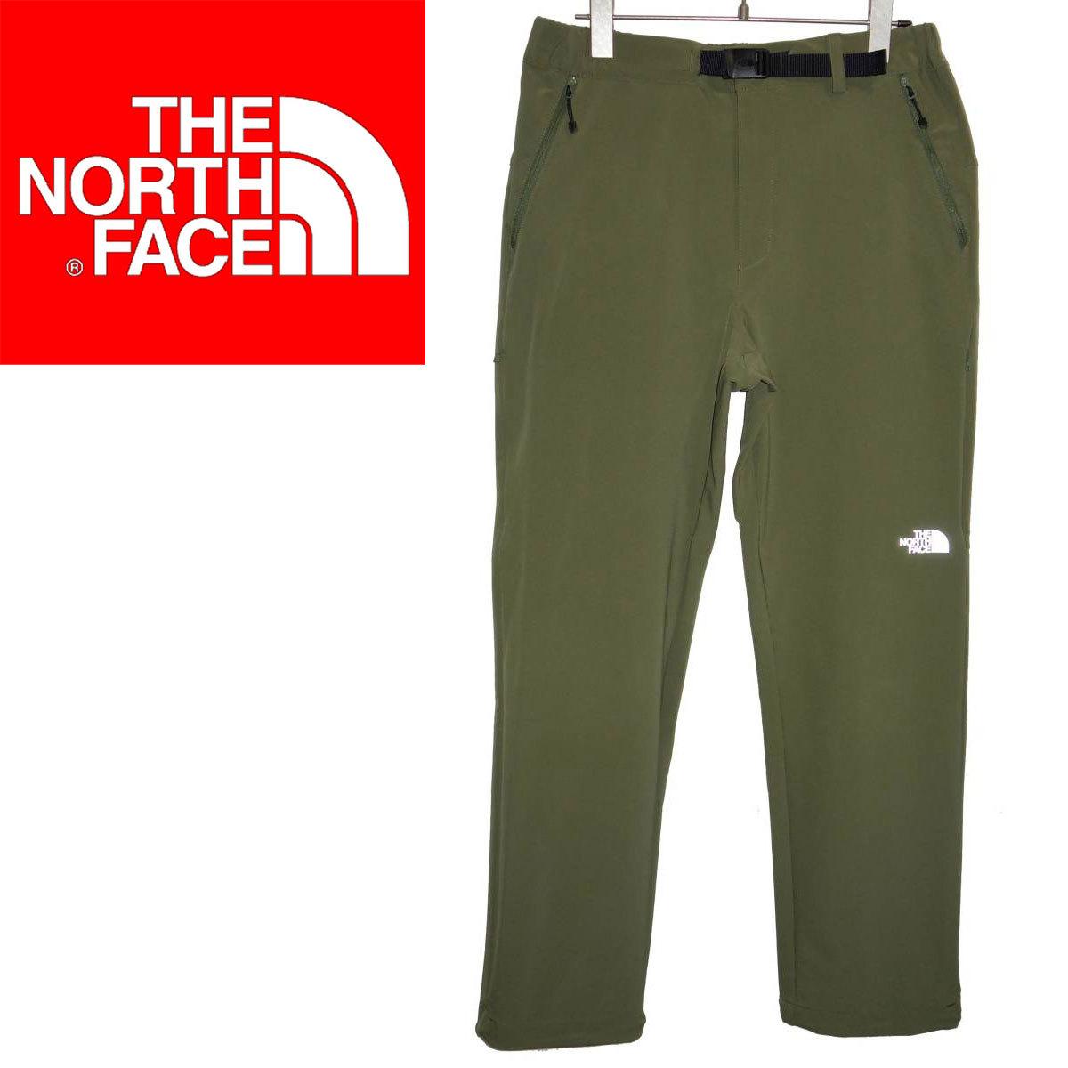 お買取り商品ノースフェイスTHENORTHFACE新品同様バーブパンツNB32006トレッキングパンツVerb pantsカーキSアウトドアウェアー
