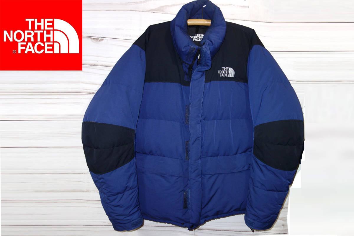 お買取り商品ノースフェイスTHENORTHFACE90年代オールドバフィングースダウンジャケットBAFFIN防寒ゴールドウィン紺XL