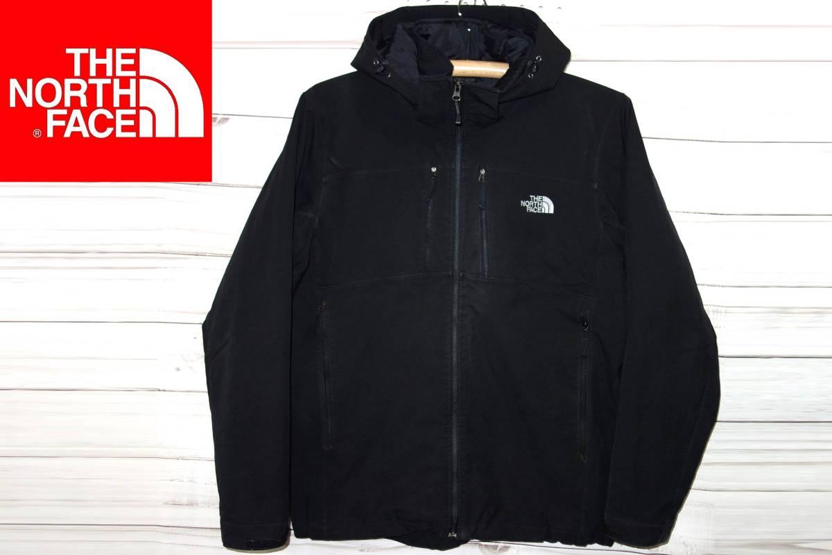 お買取り商品ノースフェイスTHENORTHFACEプリマロフト中綿ジャケット黒L軽量温か