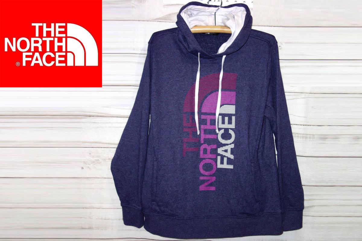 お買取り商品ノースフェイスTHENORTHFACE正規スウェットパーカー紫