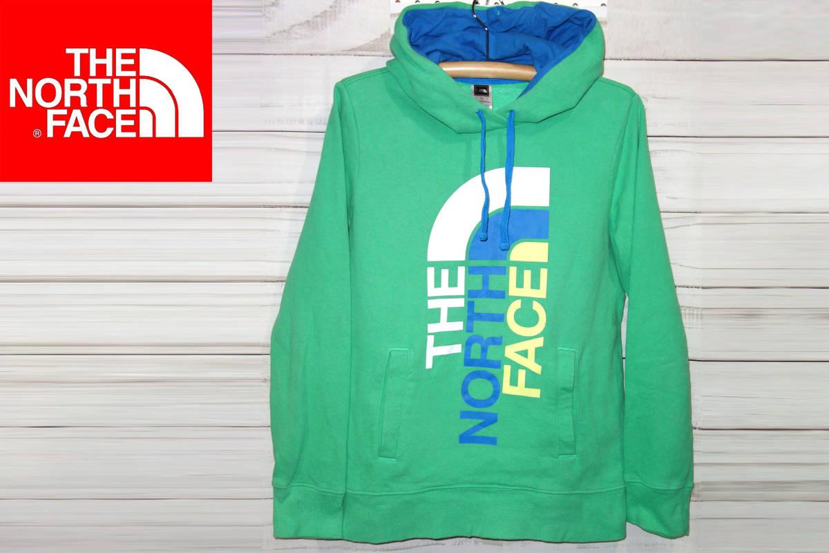お買取り商品ノースフェイスTHENORTHFACE正規スウェットパーカー緑