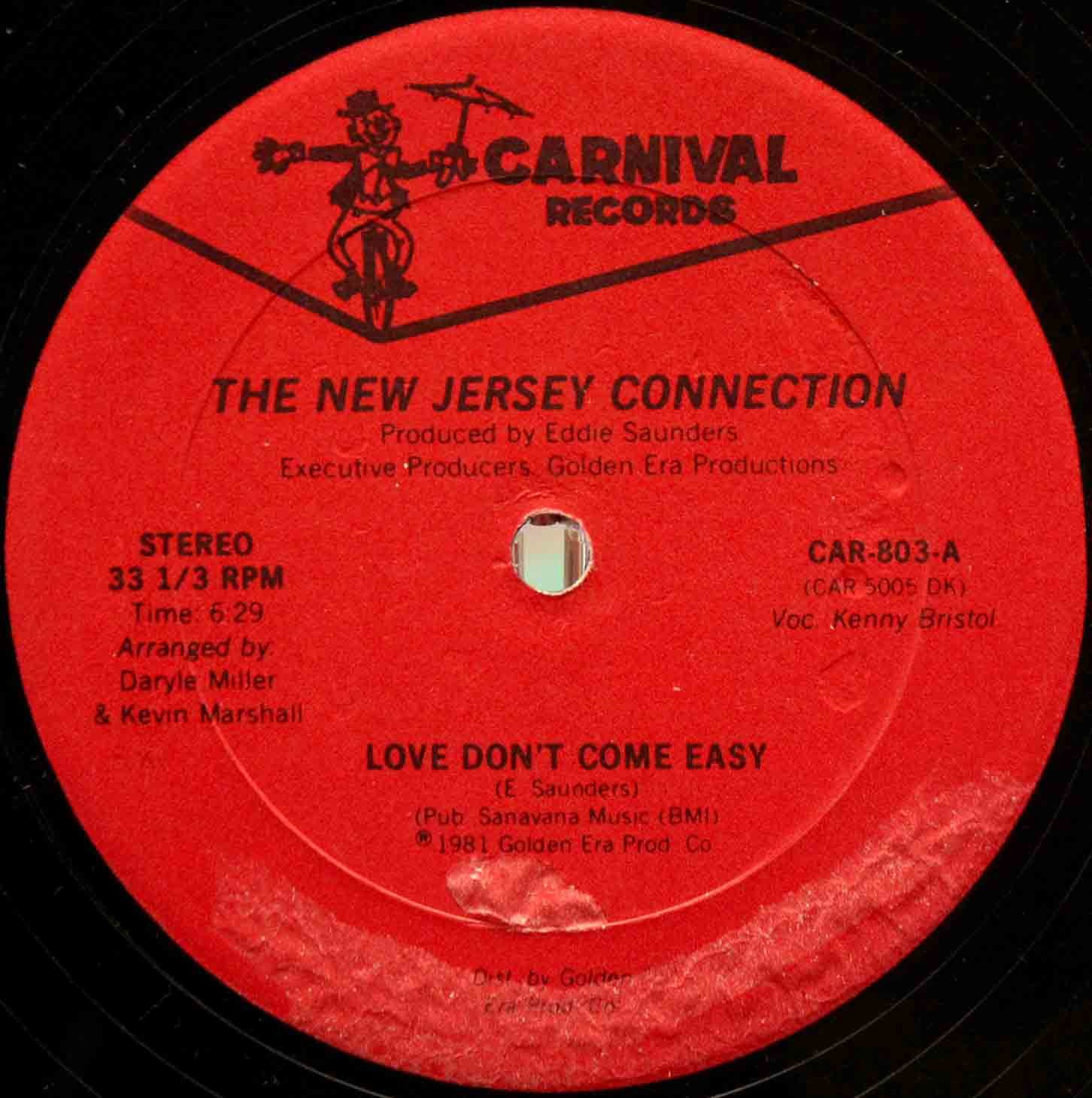 New Jersey Connection ‎– Love Dont Come Easy 03