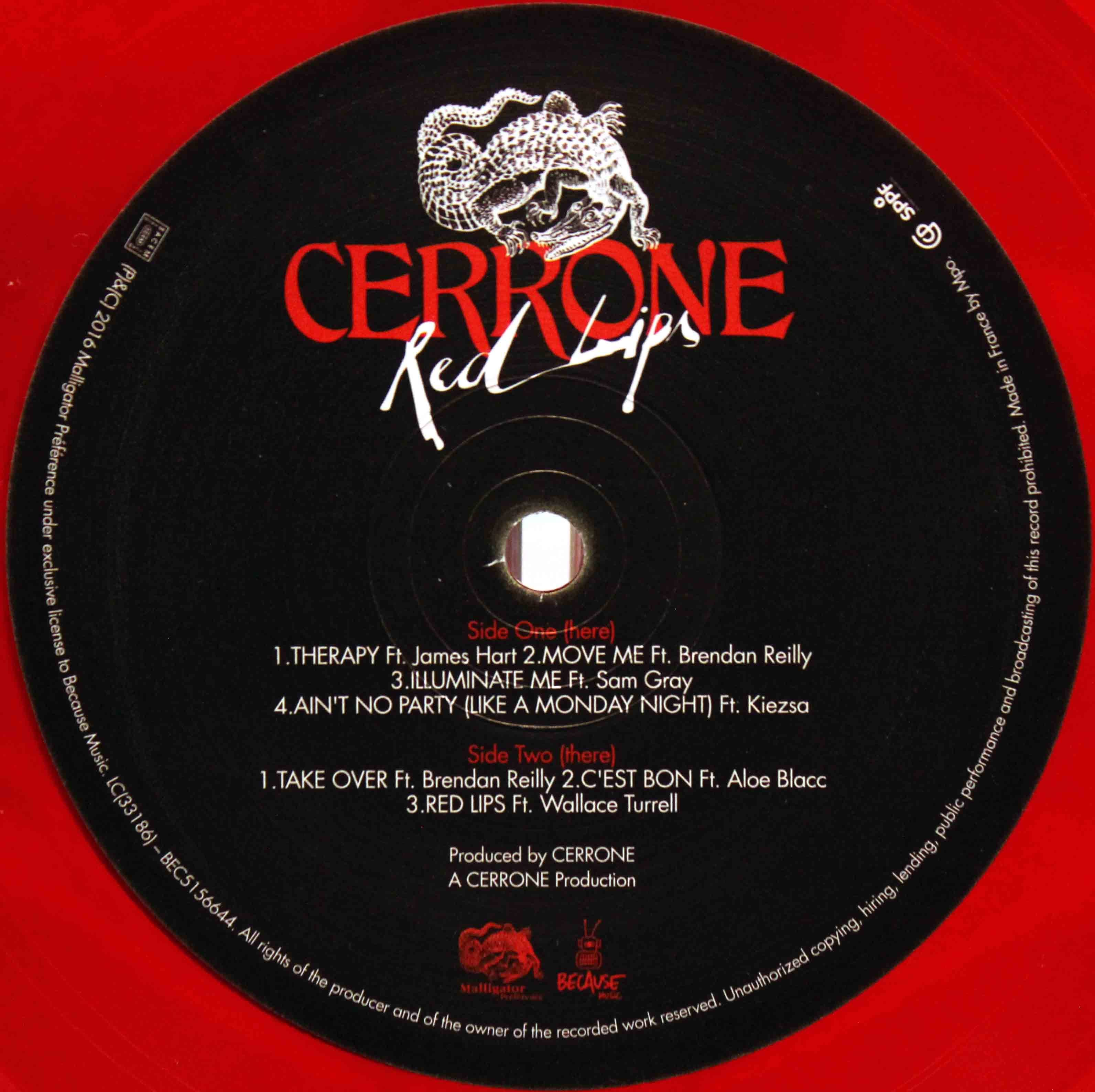 Cerrone (2018) – Red Lips 03