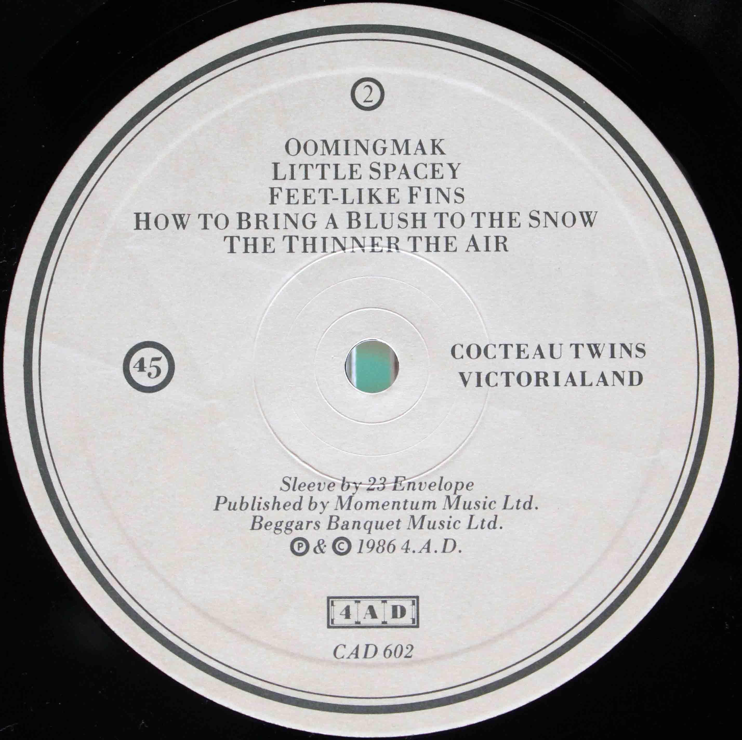Cocteau Twins – Victorialand 05