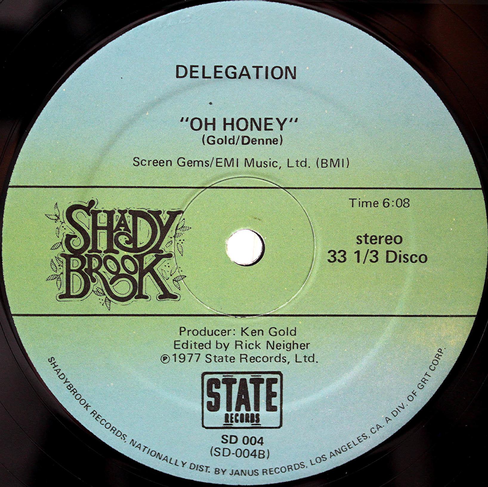 Delegation - Oh honey 02