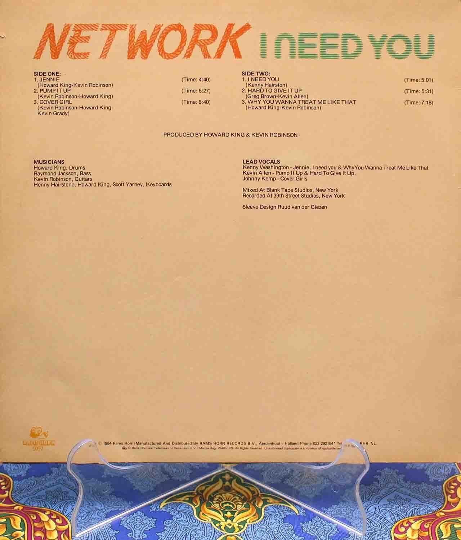 Network I Need You 02