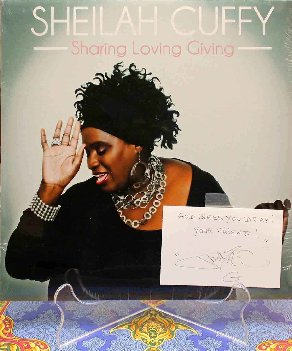 Thomas G Sheilah Cuffy – Sharing Loving Giving 01